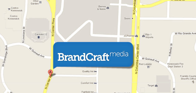 BrandCraft Media Kennewick Web Design office