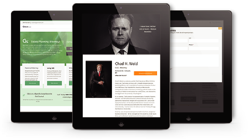 Gravis Law iPad Showcase
