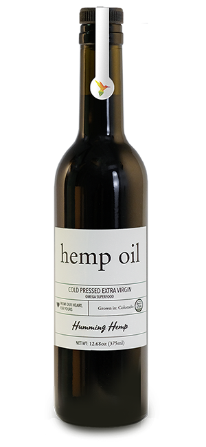Humming Hemp Hemp Oil Bottle