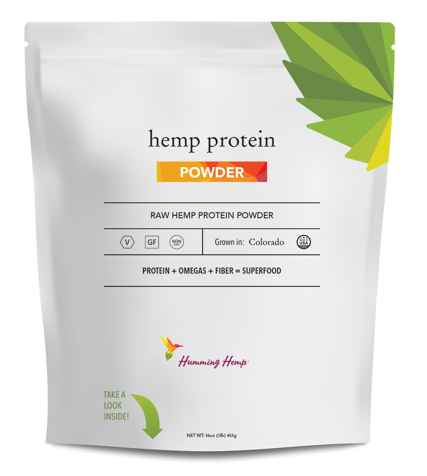 Humming Hemp Hemp Protein Powder Packaging
